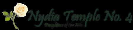 Nydia Temple No. 4 Logo